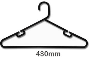 High Quality Plastic Boutique Clothes Hanger - 305G see colors